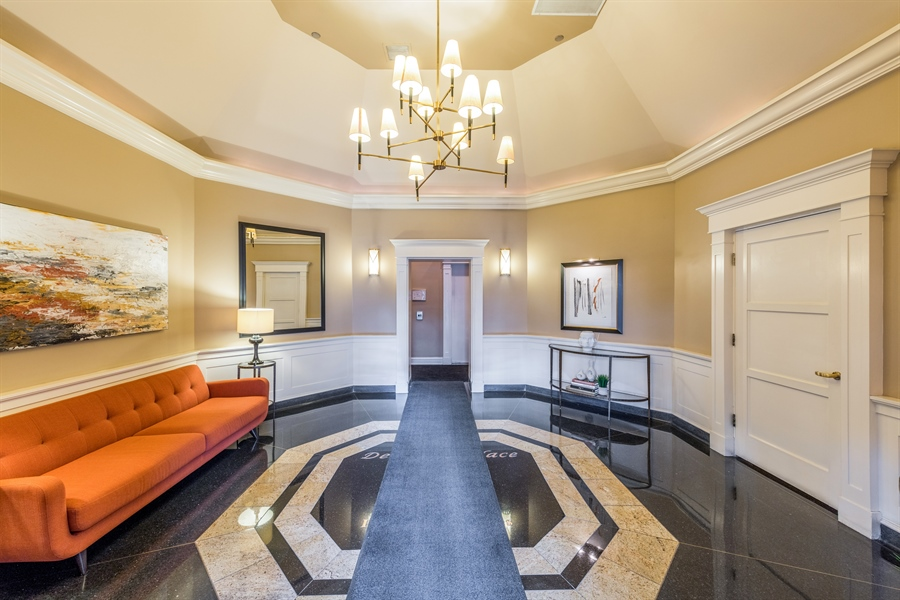 Real Estate Photography - 33 W Delaware, Unit 10B, Chicago, IL, 60610 - Lobby