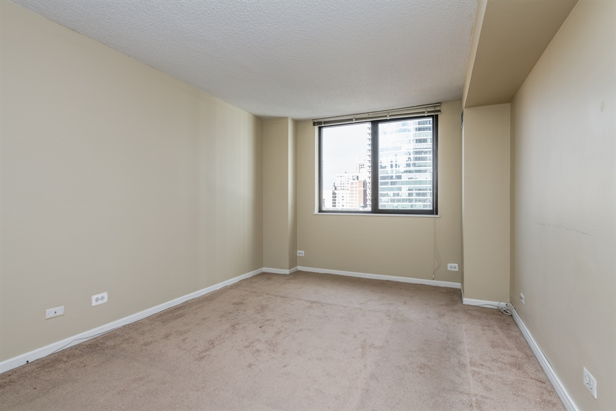 Real Estate Photography - 33 W Delaware, Unit 10B, Chicago, IL, 60610 - Bedroom