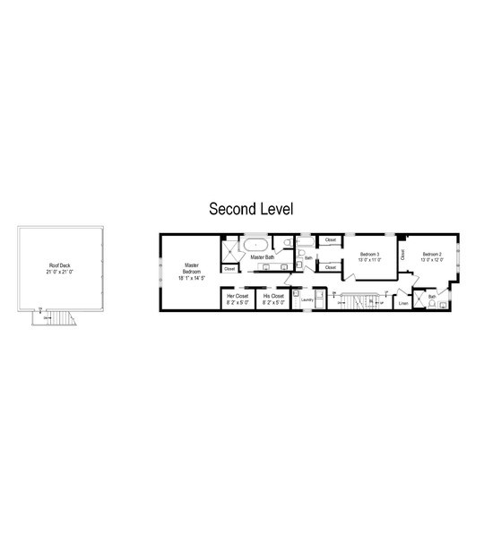 Real Estate Photography - 3623 N Leavitt, Chicago, IL, 60618 - Floor Plan