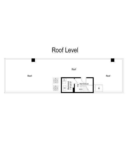 Real Estate Photography - 3623 N Leavitt, Chicago, IL, 60618 - Floor Plan