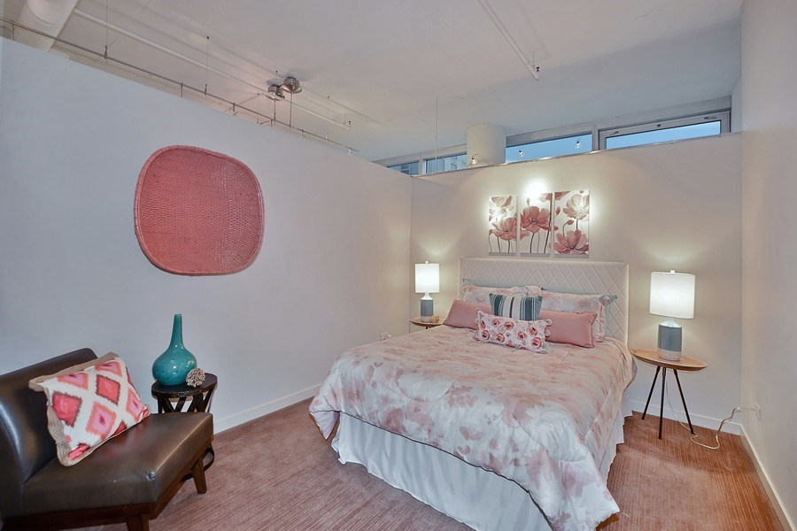 Real Estate Photography - 333 N. Canal, 1804, Chicago, IL, 60606 - Second Bedroom