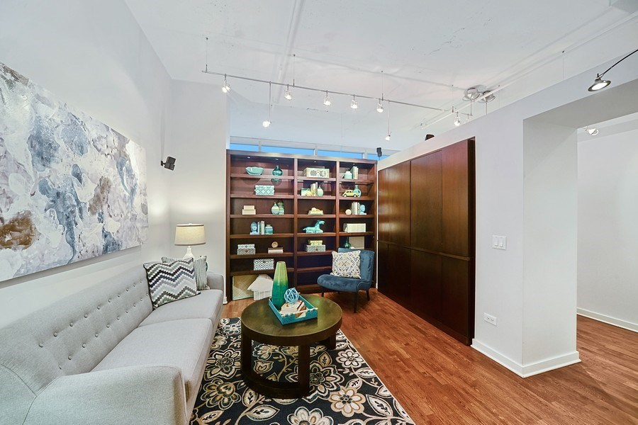 Real Estate Photography - 333 N. Canal, 1804, Chicago, IL, 60606 - Third Bedroom