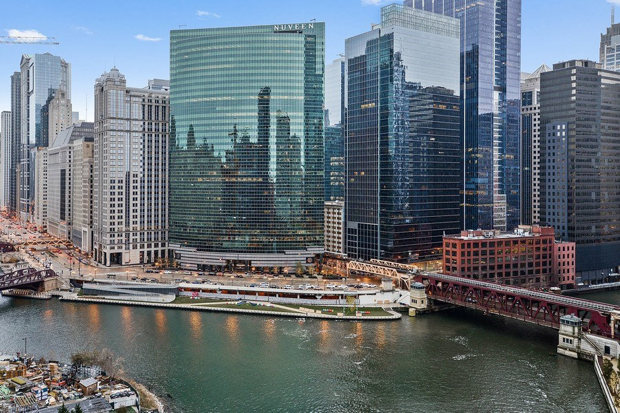 Real Estate Photography - 333 N. Canal, 1804, Chicago, IL, 60606 - View