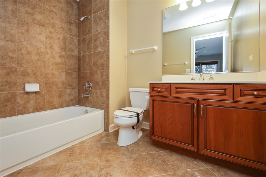 Real Estate Photography - 9050 Underhill Court, Lakewood, IL, 60014 - 3rd Bathroom