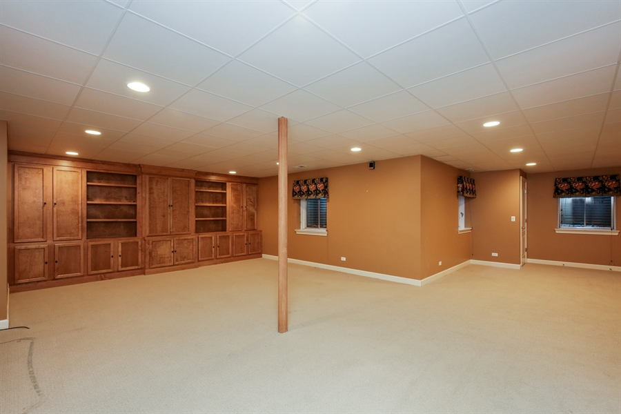 Real Estate Photography - 9050 Underhill Court, Lakewood, IL, 60014 - Lower Level