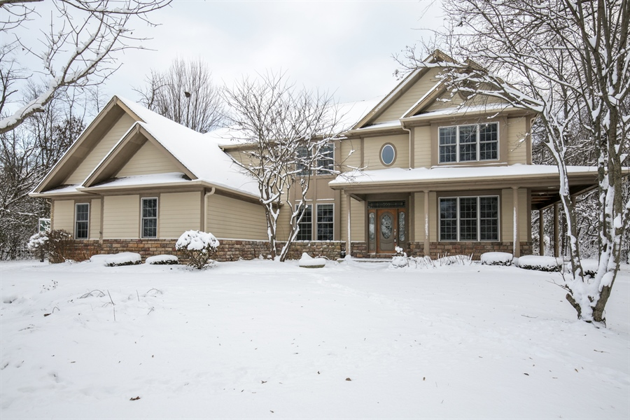 Real Estate Photography - 9050 Underhill Court, Lakewood, IL, 60014 - Front View