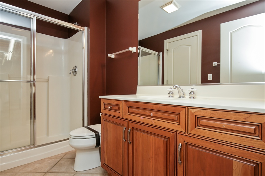 Real Estate Photography - 9050 Underhill Court, Lakewood, IL, 60014 - Bathroom