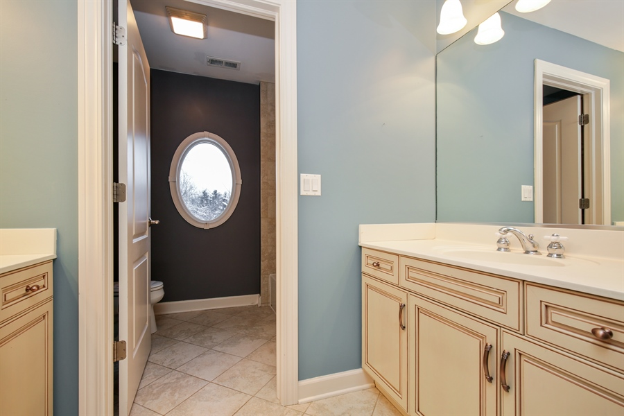 Real Estate Photography - 9050 Underhill Court, Lakewood, IL, 60014 - 2nd Bathroom