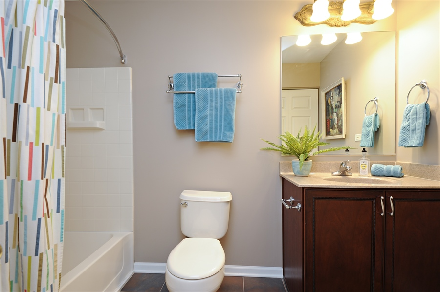 Real Estate Photography - 1942 Crenshaw, Vernon Hills, IL, 60061 - Bathroom