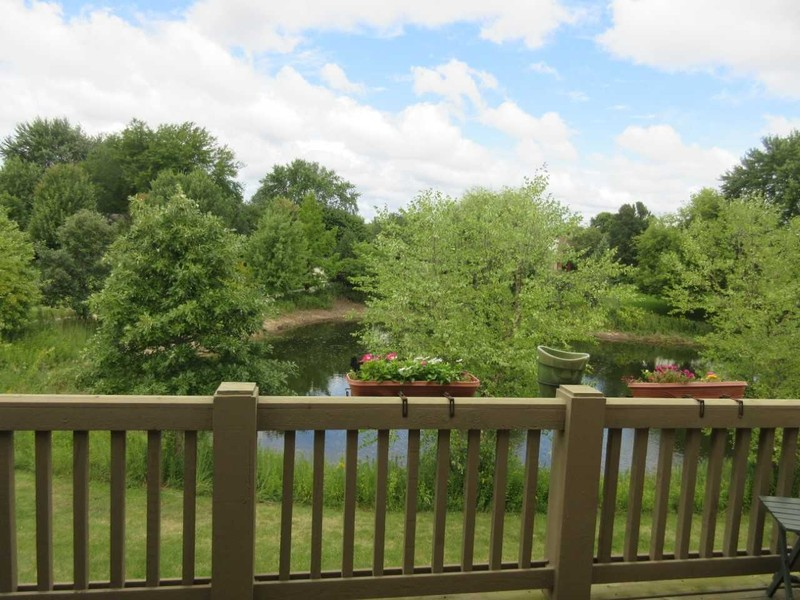 Real Estate Photography - 1942 Crenshaw, Vernon Hills, IL, 60061 - Balcony - Summer View