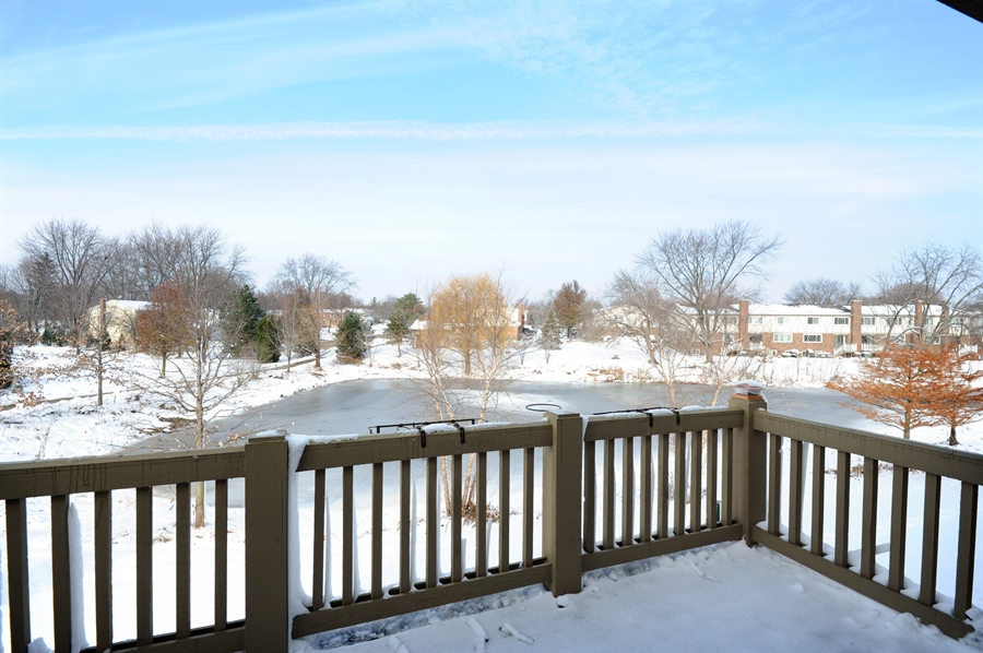Real Estate Photography - 1942 Crenshaw, Vernon Hills, IL, 60061 - Balcony