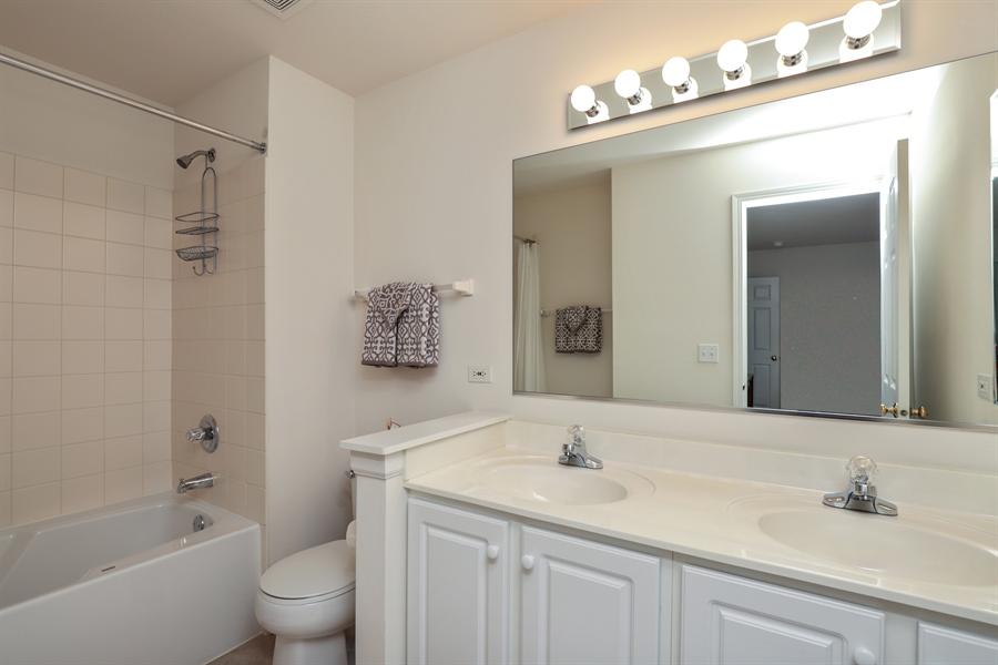 Real Estate Photography - 638 Benton, Lake Villa, IL, 60048 - Master Bathroom