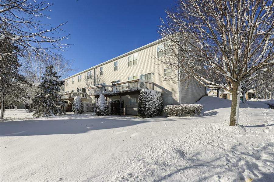 Real Estate Photography - 638 Benton, Lake Villa, IL, 60048 - Rear View