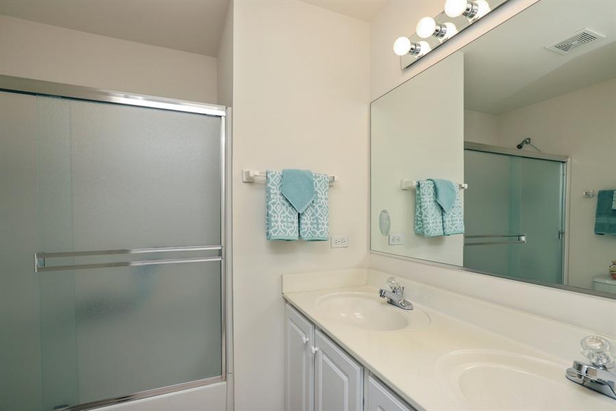 Real Estate Photography - 638 Benton, Lake Villa, IL, 60048 - Bathroom