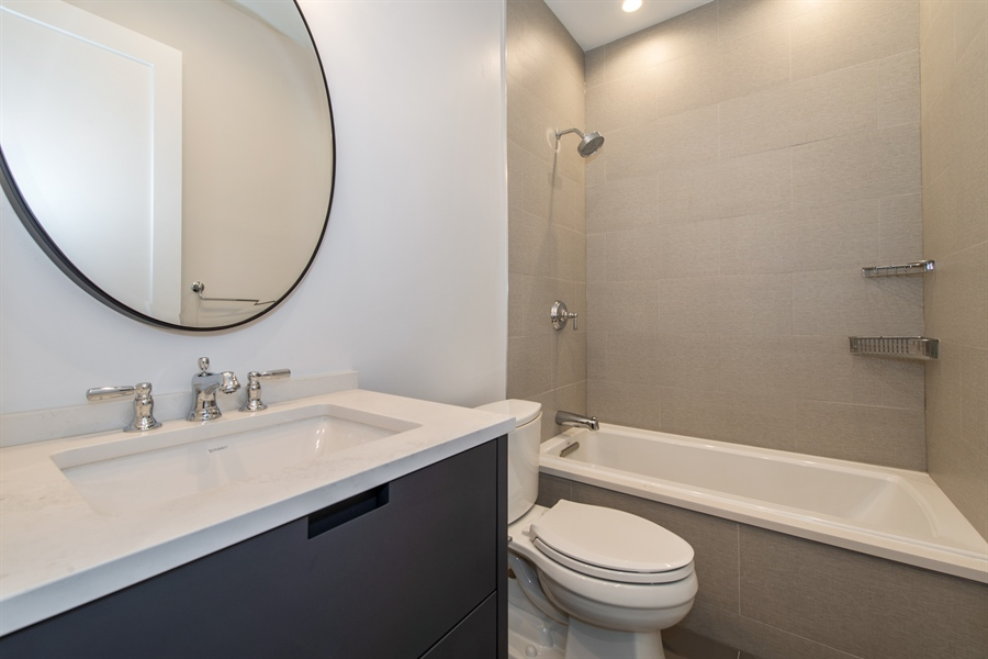 Real Estate Photography - 2615 N Bosworth Ave, Chicago, IL, 60614 - 4th Bathroom