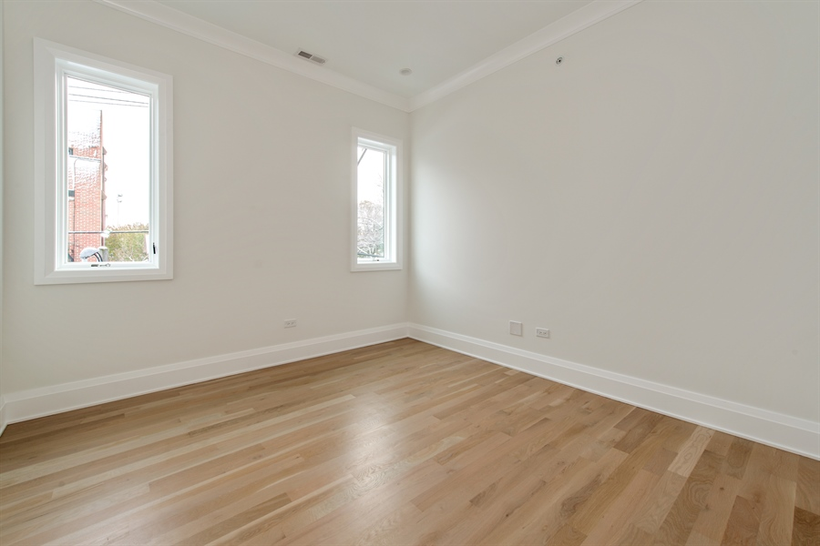 Real Estate Photography - 2615 N Bosworth Ave, Chicago, IL, 60614 - 3rd Bedroom