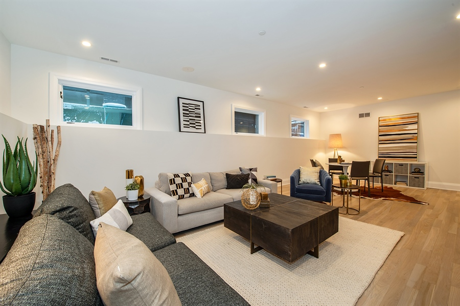 Real Estate Photography - 2615 N Bosworth Ave, Chicago, IL, 60614 - Lower Level