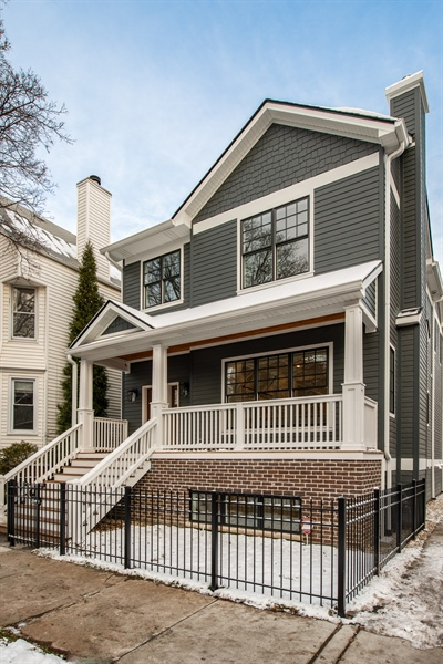 Real Estate Photography - 2615 N Bosworth Ave, Chicago, IL, 60614 - Front View