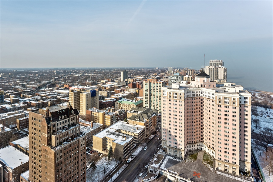 Real Estate Photography - 5455 N Sheridan Rd, 3303, Chicago, IL, 60640 - City View
