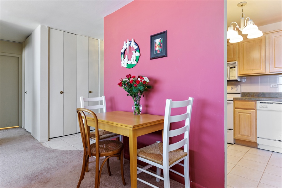 Real Estate Photography - 5455 N Sheridan Rd, 3303, Chicago, IL, 60640 - Dining Area