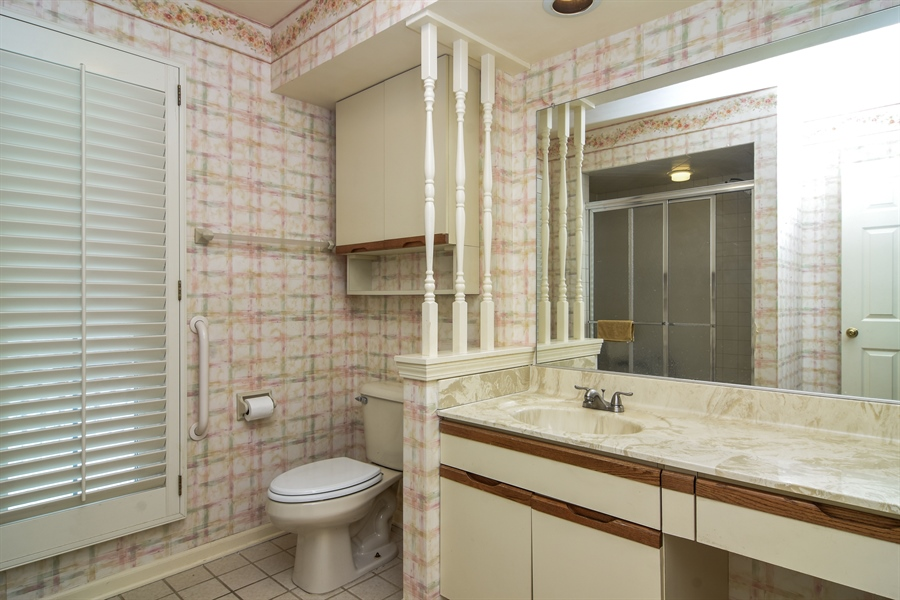 Real Estate Photography - 1413 Shire Circle, Inverness, IL, 60067 - Master Bathroom