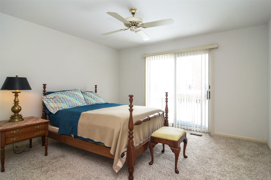 Real Estate Photography - 1413 Shire Circle, Inverness, IL, 60067 - 2nd Bedroom