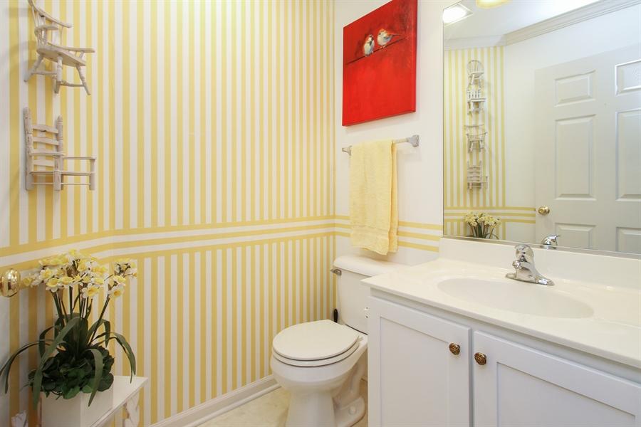 Real Estate Photography - 837 Blue Spruce Ct, Lindenhurst, IL, 60046 - Powder Room