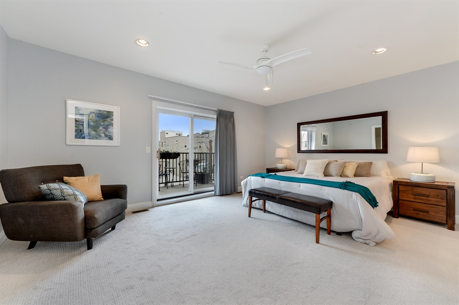 Real Estate Photography - 1502 N. Sedgwick, 5N, Chicago, IL, 60610 - Master Bedroom