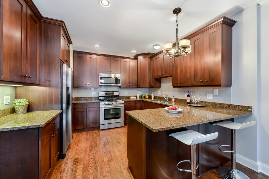 Real Estate Photography - 1502 N. Sedgwick, 5N, Chicago, IL, 60610 - Kitchen