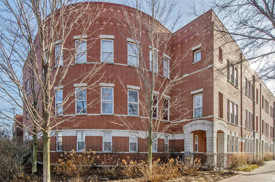 Real Estate Photography - 535 Chicago Ave, B, Evanston, IL, 60202 - Front View