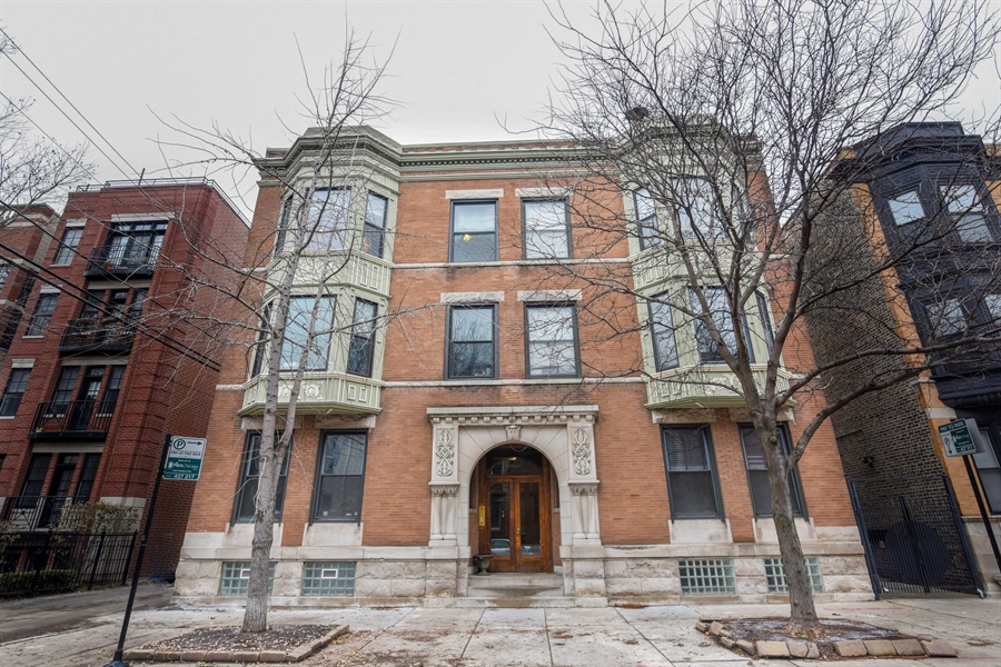 Real Estate Photography - 810 W Buckingham, 3W, Chicago, IL, 60657 - Front View