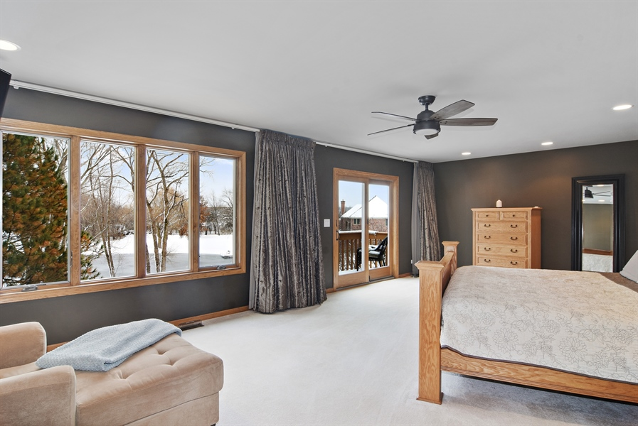 Real Estate Photography - 185 Elderberry, Hawthorn Woods, IL, 60047 - Master Bedroom