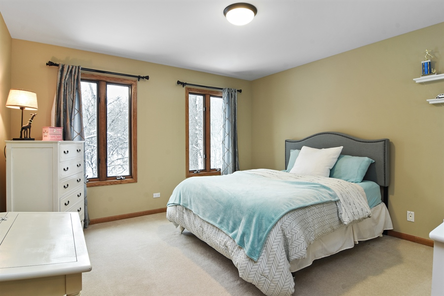 Real Estate Photography - 185 Elderberry, Hawthorn Woods, IL, 60047 - 3rd Bedroom