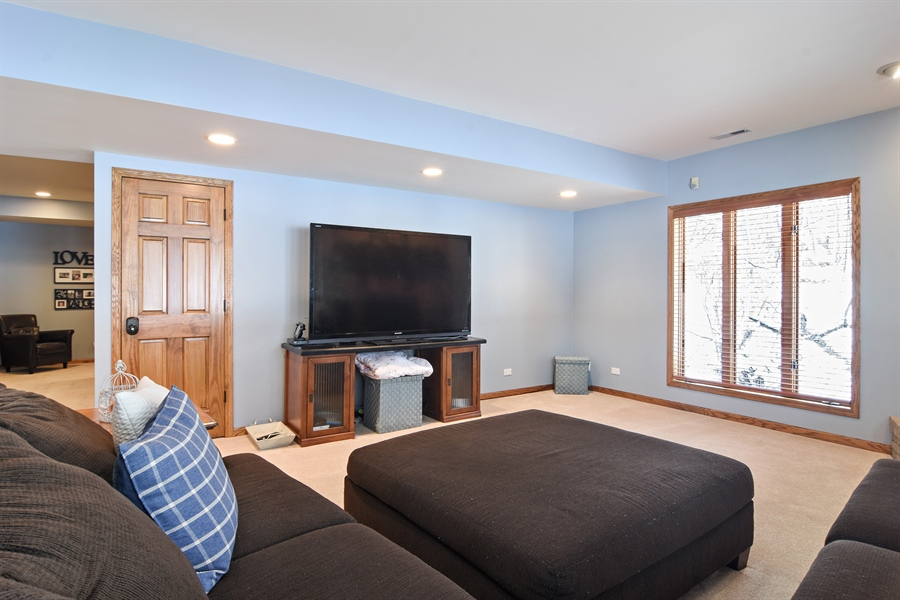 Real Estate Photography - 185 Elderberry, Hawthorn Woods, IL, 60047 - Lower Level
