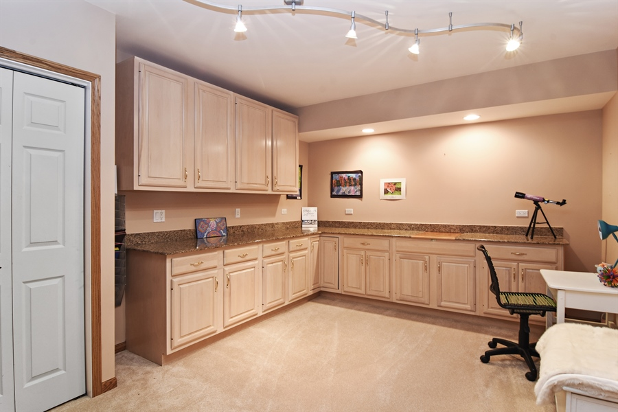 Real Estate Photography - 185 Elderberry, Hawthorn Woods, IL, 60047 - Office