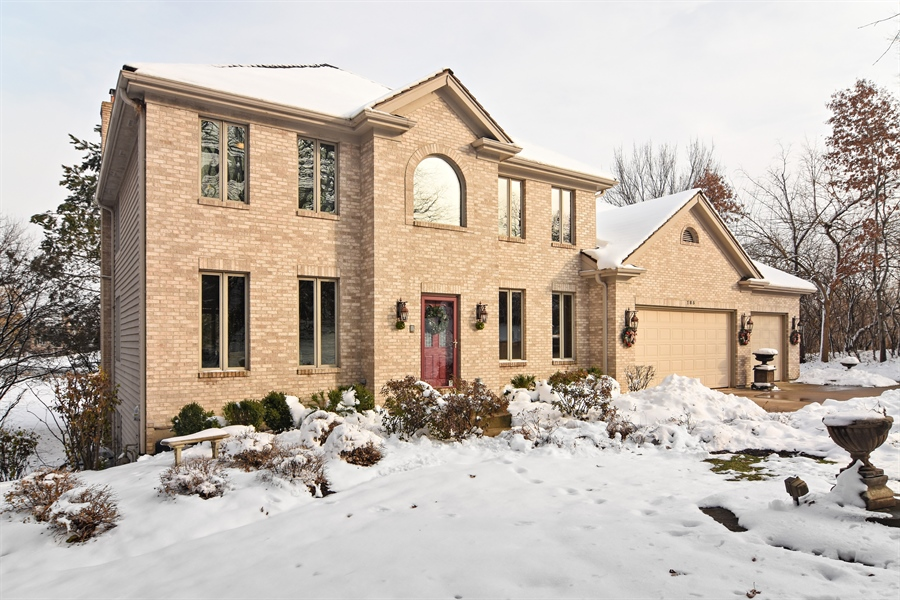 Real Estate Photography - 185 Elderberry, Hawthorn Woods, IL, 60047 - Front View