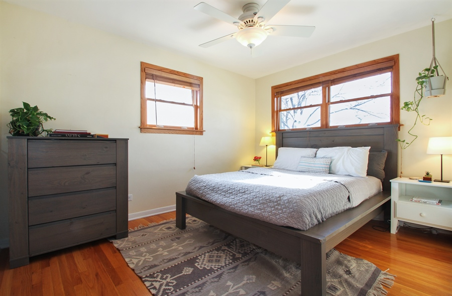 Real Estate Photography - 701 N Elmhurst Ave, Mount Prospect, IL, 60056 - Bedroom