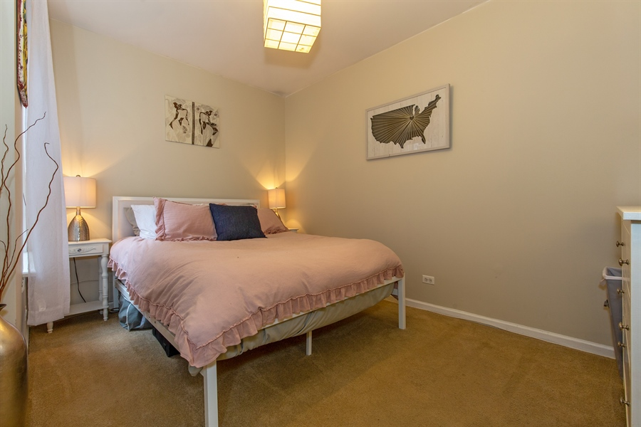 Real Estate Photography - 1636 W. Melrose St., 204, Chicago, IL, 60657 - Bedroom