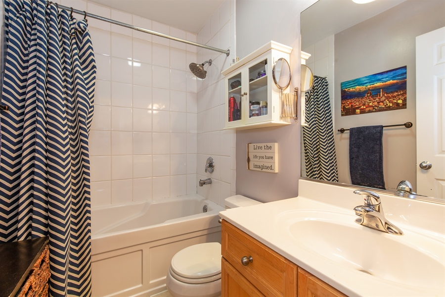 Real Estate Photography - 1636 W. Melrose St., 204, Chicago, IL, 60657 - Bathroom