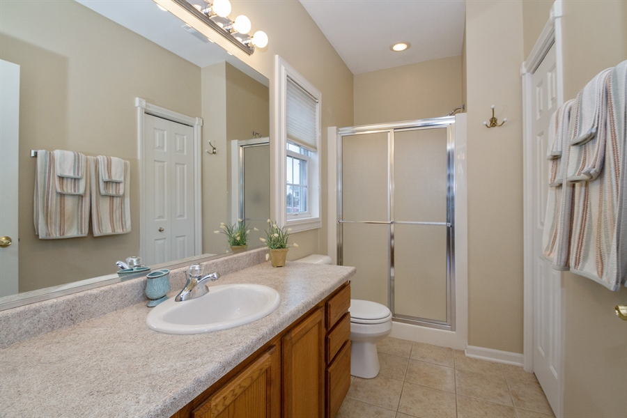 Real Estate Photography - 760 Heather Circle, Lake Geneva, WI, 53147 - Master Bathroom