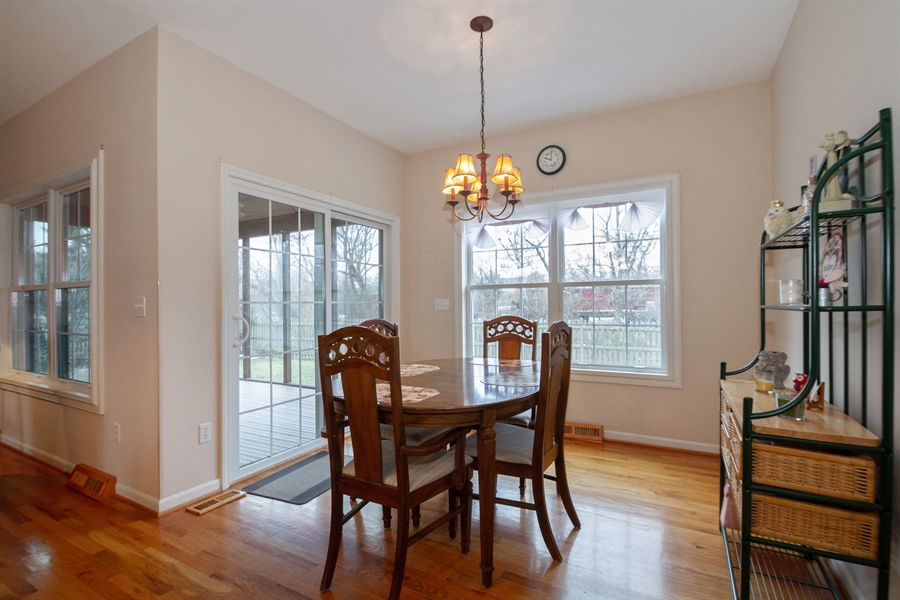 Real Estate Photography - 760 Heather Circle, Lake Geneva, WI, 53147 - Dining Room