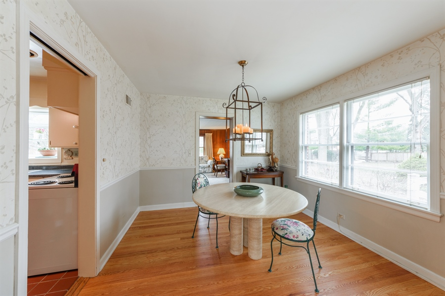 Real Estate Photography - 111 S Stratford, Arlington Heights, IL, 60004 - Dining Room