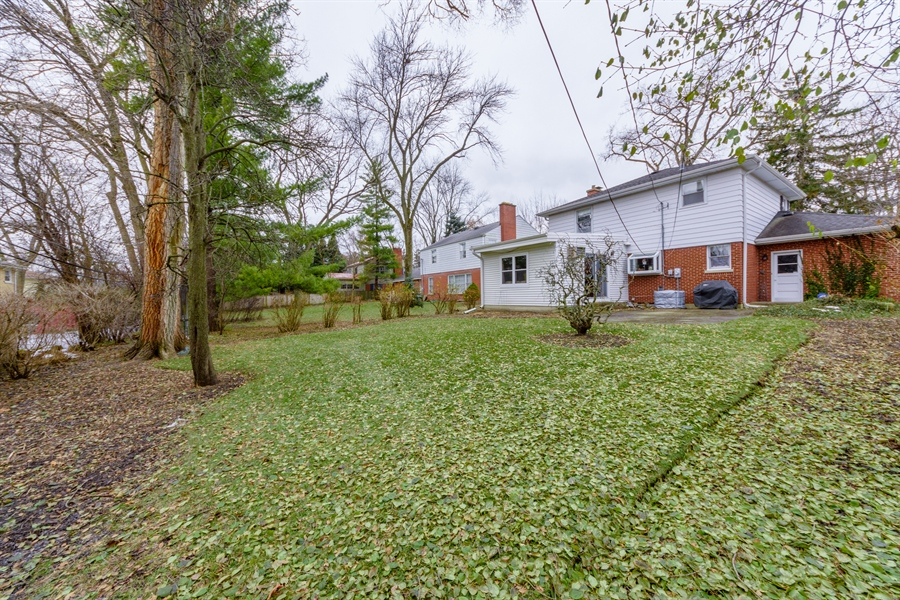 Real Estate Photography - 111 S Stratford, Arlington Heights, IL, 60004 - Rear View