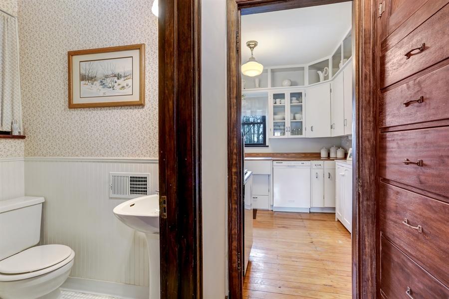 Real Estate Photography - 1925 Langley Ave, Saint Joseph, MI, 49085 - Half Bath
