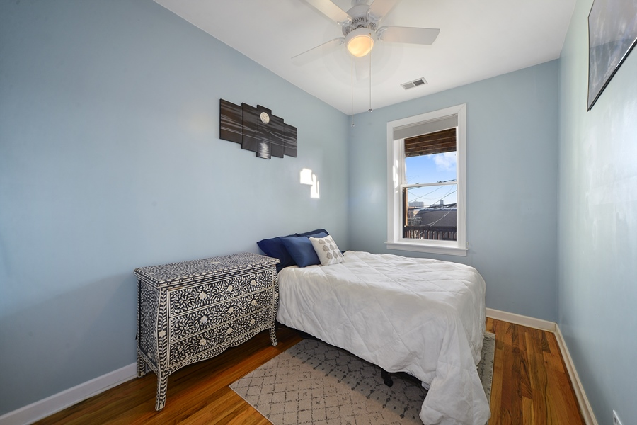 Real Estate Photography - 1813 W. Grand, 2, Chicago, IL, 60622 - Master Bedroom