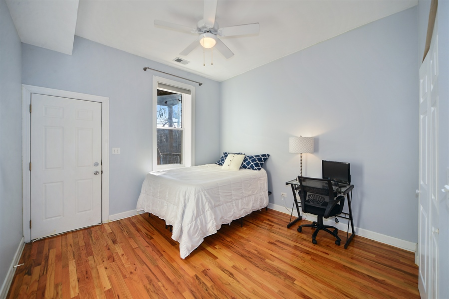 Real Estate Photography - 1813 W. Grand, 2, Chicago, IL, 60622 - Second Bedroom
