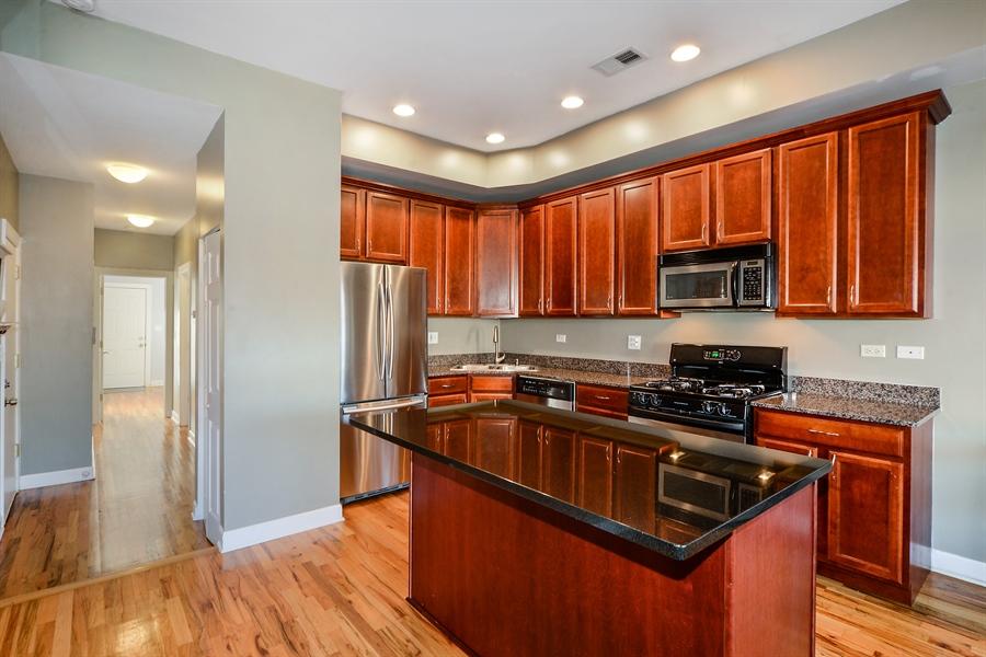 Real Estate Photography - 1813 W. Grand, 2, Chicago, IL, 60622 - Kitchen