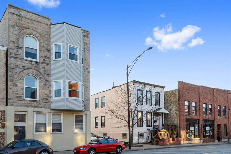 Real Estate Photography - 1813 W. Grand, 2, Chicago, IL, 60622 - Front View