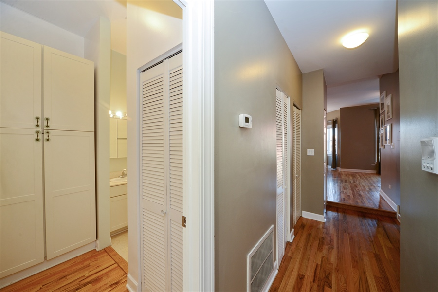 Real Estate Photography - 1813 W. Grand, 2, Chicago, IL, 60622 - Hallway