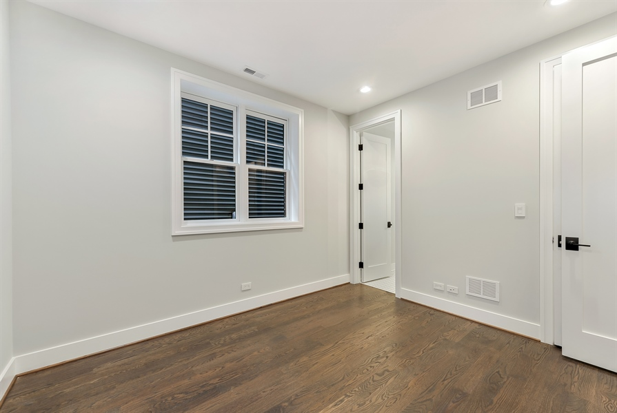 Real Estate Photography - 1530 W Wellington, Chicago, IL, 60657 - 3rd Bedroom